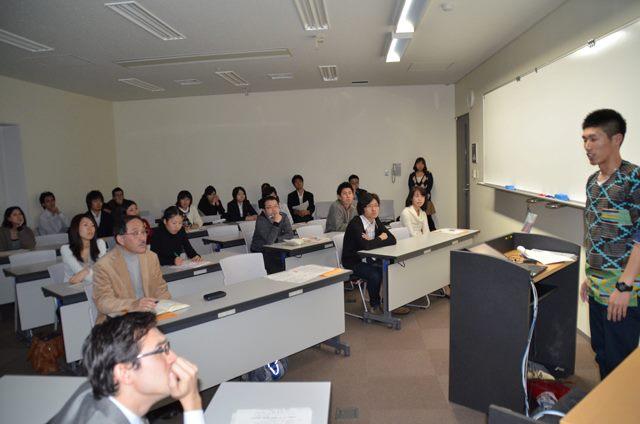 2011年の講演会の様子