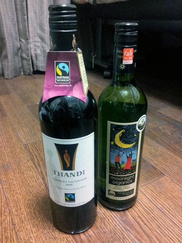 フェアトレード・ワイン タンディ・カベルネ ムーンライト・オーガニックス シュナンブラン