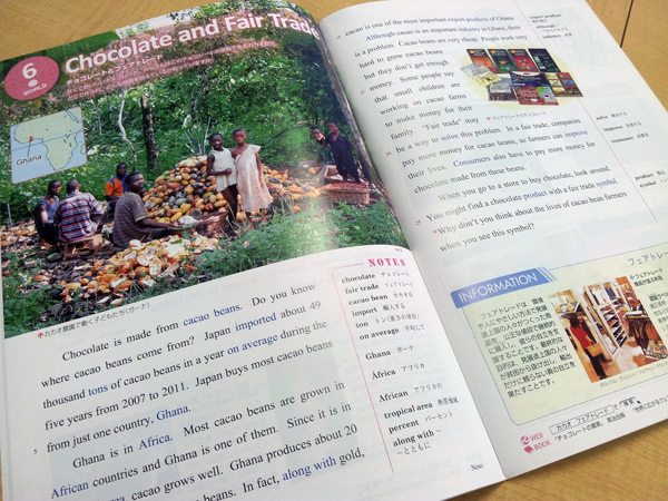 Chocolate and Fair Trade(カカオ豆農家の問題とフェアトレード) '13-'14 Watching News | 浜島書店